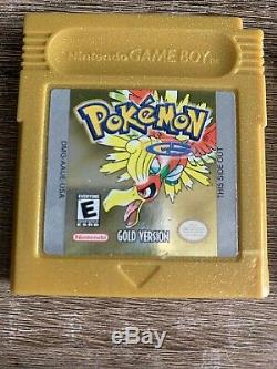 Pokemon Crystal Gold Silver Blue Red Yellow Collection GB GBC Game Boy Color