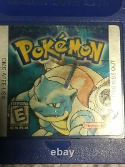 Pokemon Crystal, Gold, Silver, Blue, Yellow, And Red Gameboy Lot