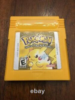 Pokemon Red, Blue, Yellow, Gold, Silver, And Crystal Authentic