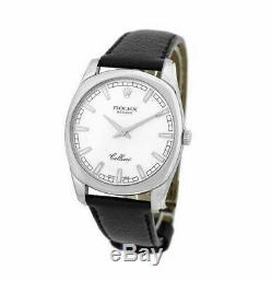 ROLEX CELLINI DANAOS XL 18K Sold White Gold Silver Dial 4243 /9 Watch Jumbo Box