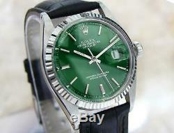 Rolex 1601 Swiss Made Automatic Gold and Stainless Steel Mens 1978 Watch AL1