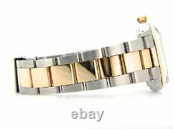 Rolex Datejust 2Tone Yellow Gold & Stainless Steel Champagne Diamond 16013