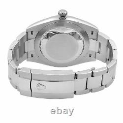 Rolex Datejust 41 White Gold Steel Blue Roman Dial Automatic Mens Watch 126334