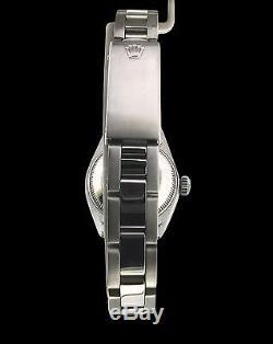 Rolex Datejust Lady Stainless Steel Watch White MOP Diamond Dial & Diamond Bezel