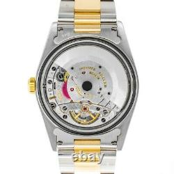 Rolex Datejust Turn-O-Graph Thunderbird 16263 Watch Silver Dial, Oyster