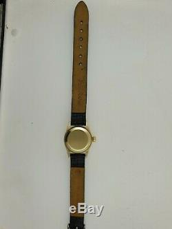 Rolex Ladies President 14K Yellow Gold Silver Stick Dial & Bezel 6719