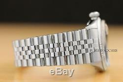 Rolex Mens Datejust Oyster Perpetual 18k White Gold & Stainless Steel Watch