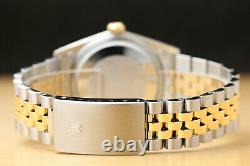 Rolex Mens Datejust Two-tone 18k Yellow Gold & Steel Watch With Rolex Band