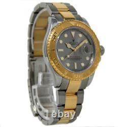 Rolex Yacht Master 16623 40mm Stainless Steel Gold Silver 2005 2YrWTY #723-1