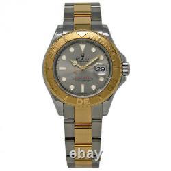 Rolex Yacht Master 16623 40mm Steel Gold Silver 2005 Box/Paper/2YrWTY #678-1