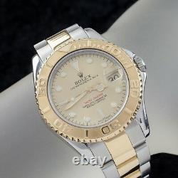 Rolex Yachtmaster 168625 Mid-Size OPD Two-Tone Automatic Watch with Date