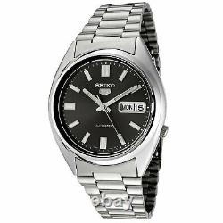 Seiko 5 Mens Black Dial Automatic Watch SNXS79K