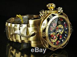 Set of 3 Invicta Reserve KING VENOM's Swiss Movt Watch (Gold, Silver, & Black)