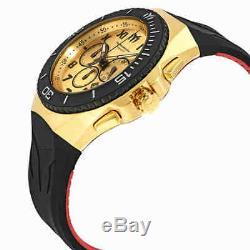 Technomarine Ocean Manta Chronograph Gold Dial Men's Watch 215067