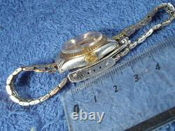 Tudor Prince Oyster Date Ladies 92413 Automatic Gold Silver Combination