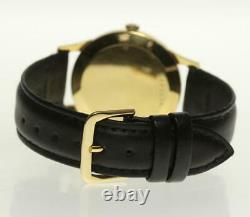 Ulysse Nardin 18K Yellow Gold Silver Dial Hand Winding Men's Watch 500105